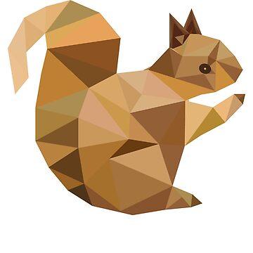 squirrel by Pferdefreundin