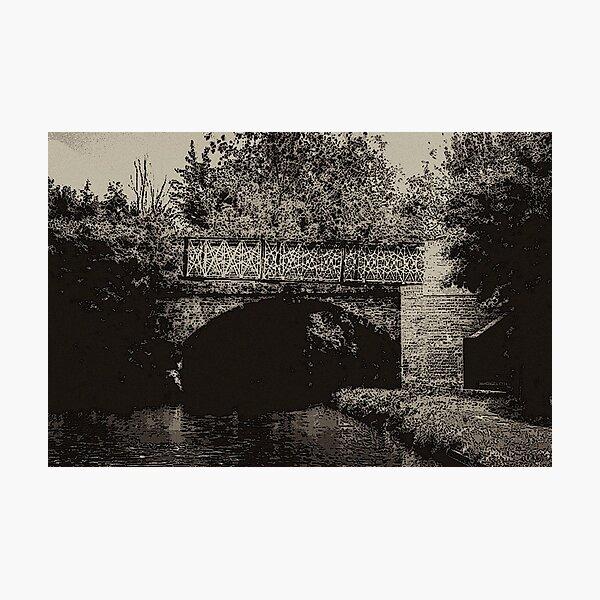 Bridge 66 North Oxford Canal no.2 Photographic Print
