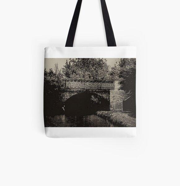 Bridge 66 North Oxford Canal no.2 All Over Print Tote Bag