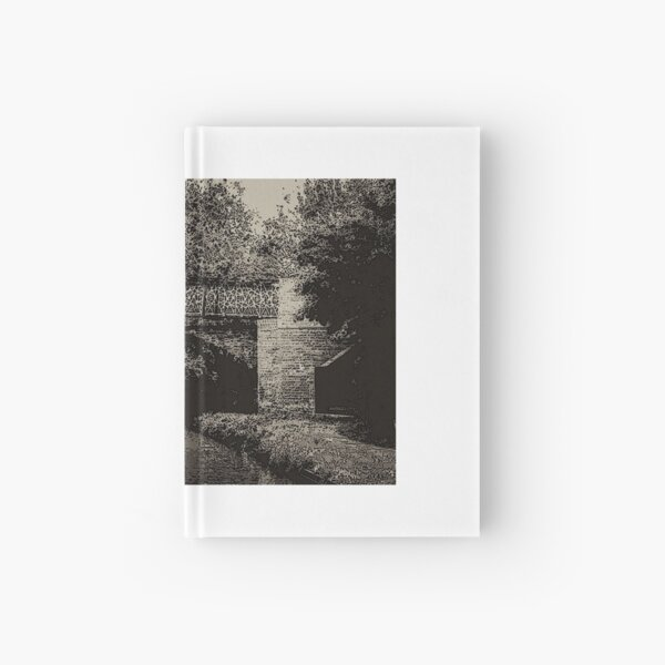 Bridge 66 North Oxford Canal no.2 Hardcover Journal