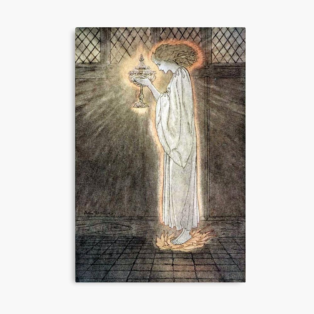 The Quest of the Grail - Arthur Rackham Canvas Print
