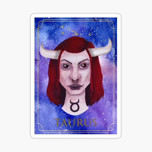 Taurus Sticker