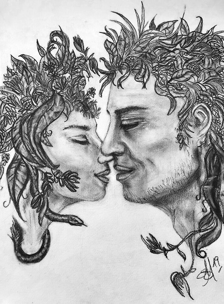 Medusa & Perseus by Astrid Strahm