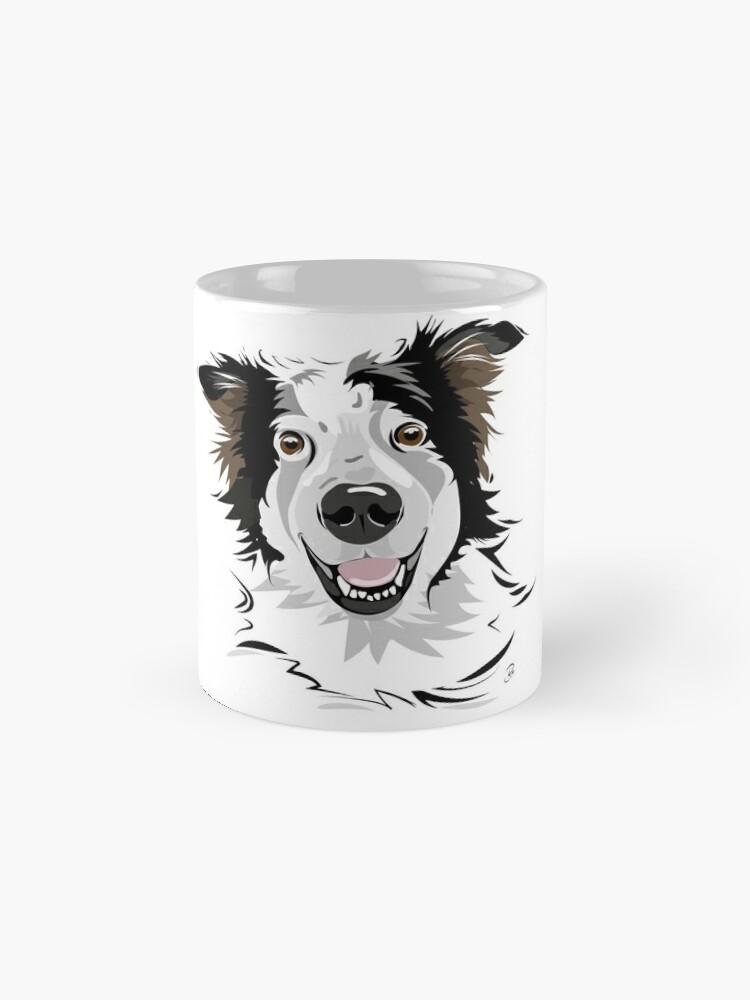 Alternative Ansicht von Willi - Fröhlicher Straßenhundmix Tasse
