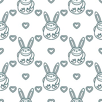 Birthday, Valentine's day, Easter seamless pattern by aquamarine-p
