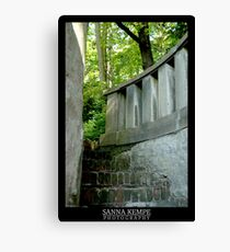 Stairway to mysteries Canvas Print