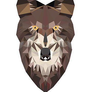 wolf by Vectorqueen
