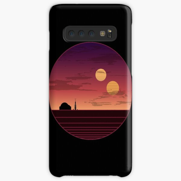 The Binary Sunset Samsung Galaxy Snap Case