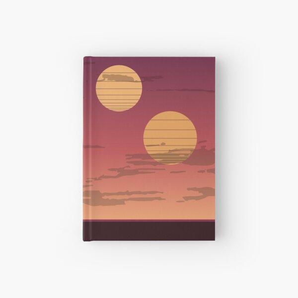 The Binary Sunset Hardcover Journal