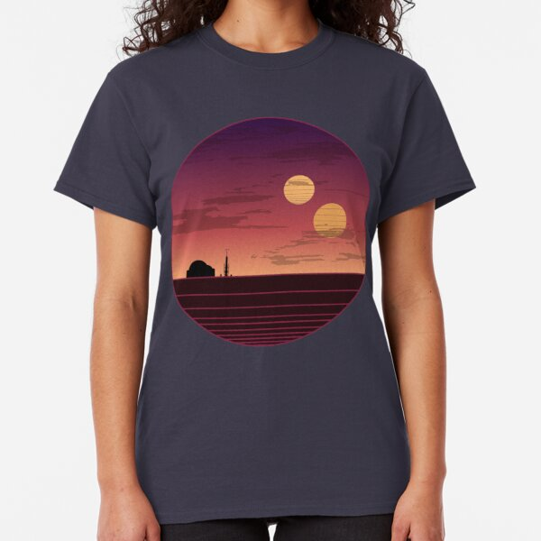 The Binary Sunset Classic T-Shirt