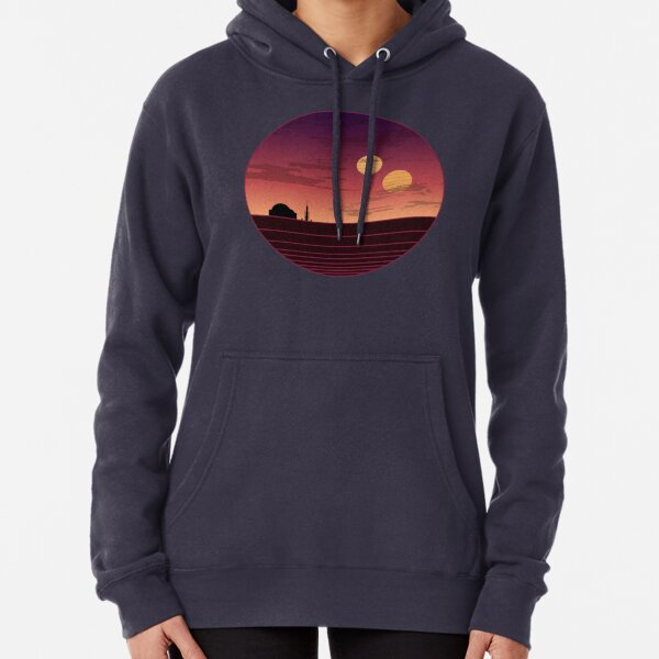 The Binary Sunset Pullover Hoodie