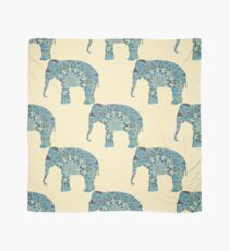 seamless pattern with the patterned elephants Scarf