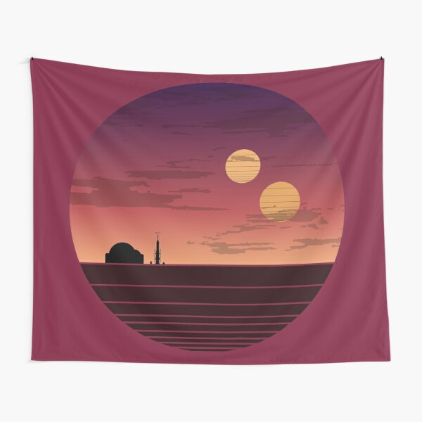 The Binary Sunset Tapestry