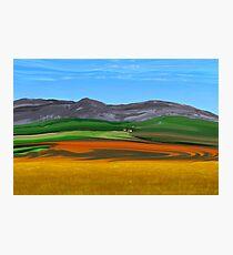 Overberg Farmstead Photographic Print