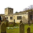 Hubberholme Church by Trevor Kersley