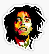 Pegatina Bob Marley Art