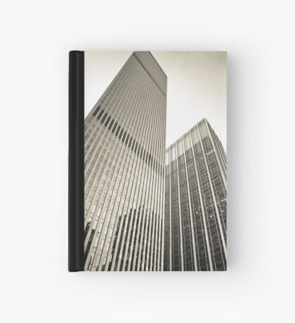 Skyscrapers in Manhattan, NYC Hardcover Journal
