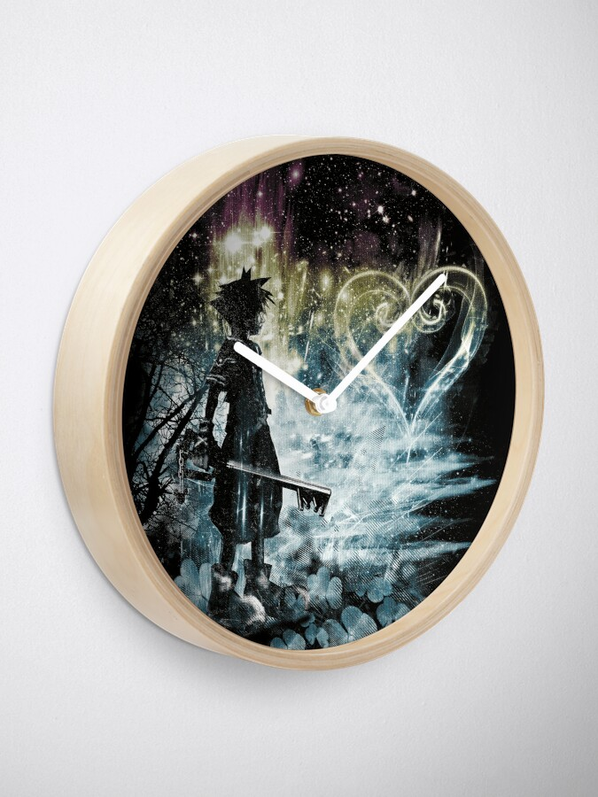 Alternate view of a path to the heart Clock