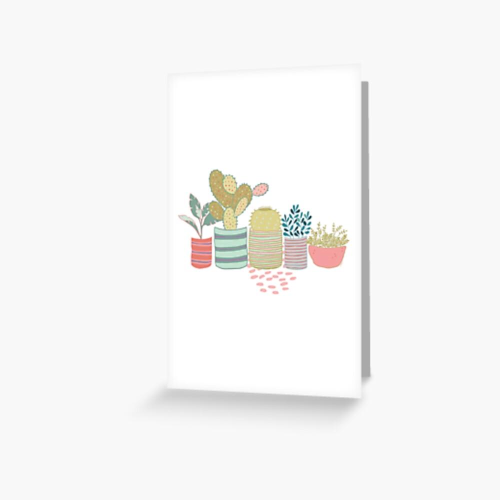 Cactus Toss Greeting Card