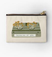vintage spring video cassette Zipper Pouch