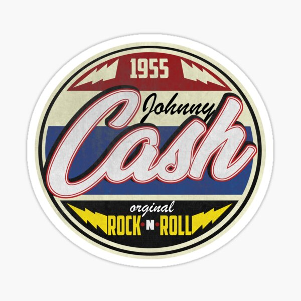 Cash Since 1955 Badge Sticker