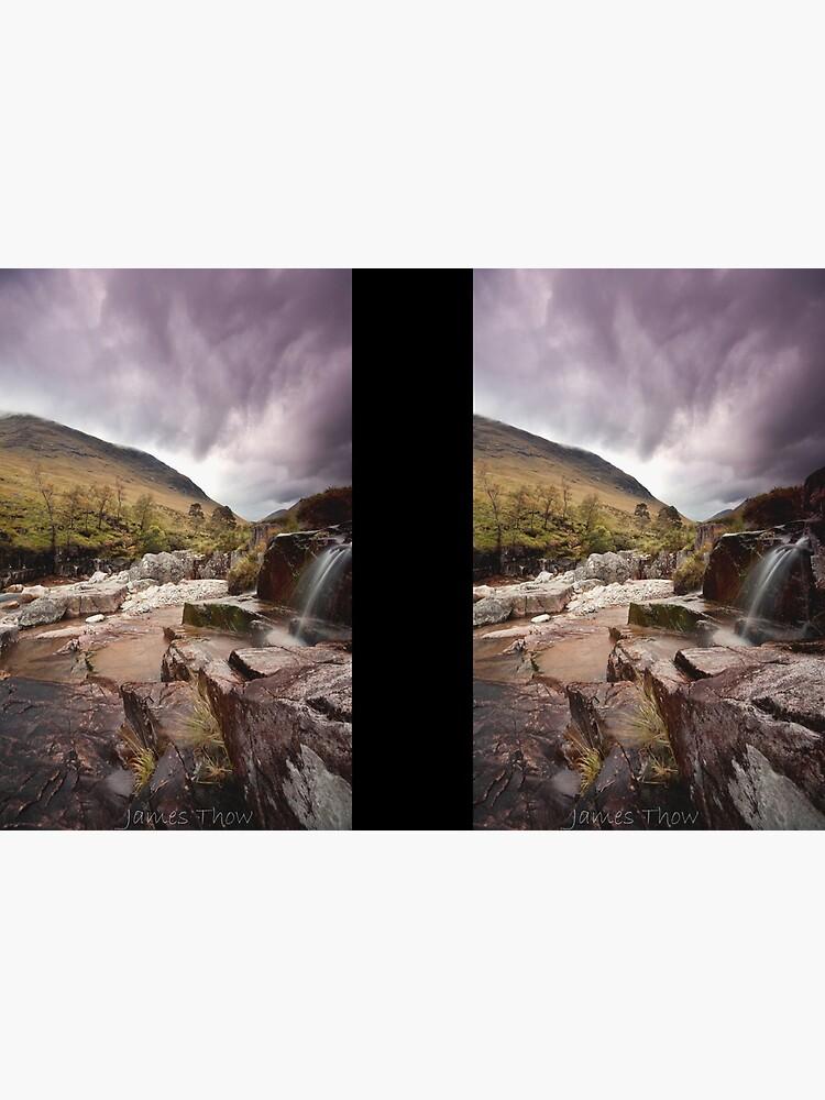 Glen Etive waterfall by tontoshorse