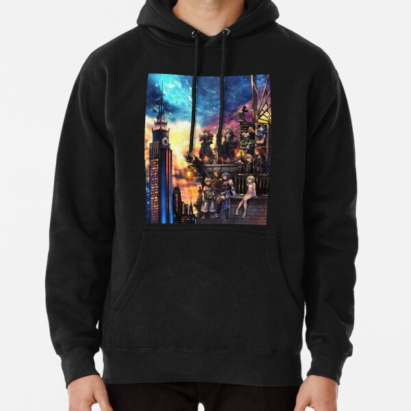 Kingdom Hearts 3 Cover Pullover Hoodie