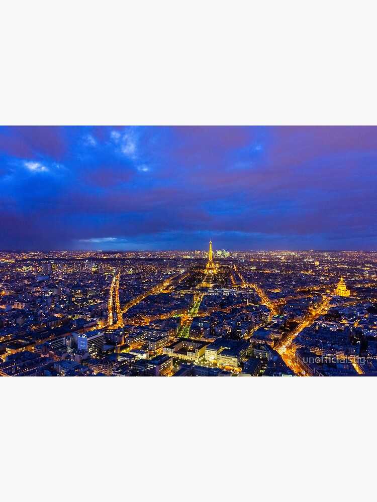 Paris Skyline at Night by unofficialstig