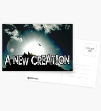 a new creation Postcards