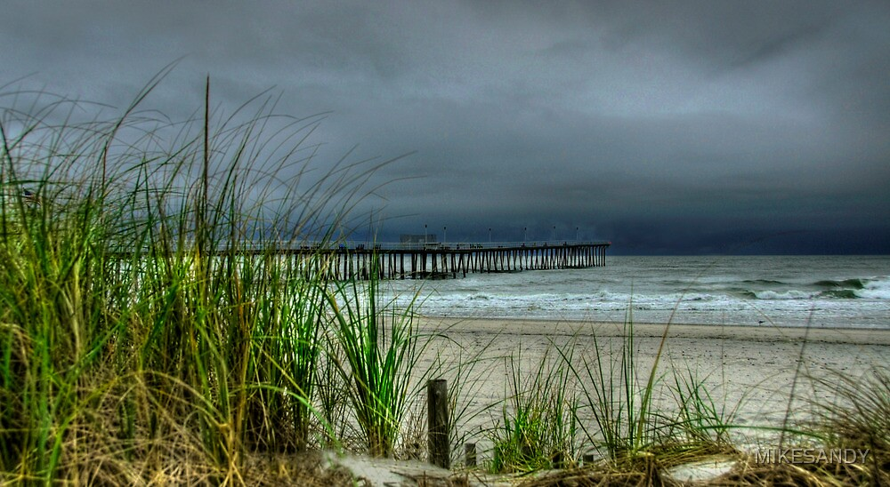 AN AUGUST STORM  by MIKESANDY