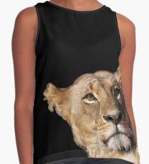 portrait female lion (lioness) Kenya Contrast Tank