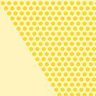 Dot Cascade in Mustard Yellow  by kierkegaard