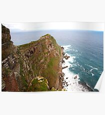 Cape point nature reserve. Poster