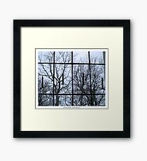 Window to another world Framed Print