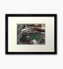 Springtime in Ottawa Canyon Framed Print