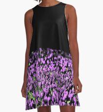 Lilac Tulips  A-Line Dress