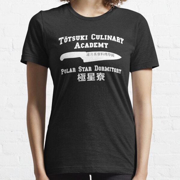 Totsuki Culinary Academy - Dortoir Polar Star - Blanc T-shirt essentiel