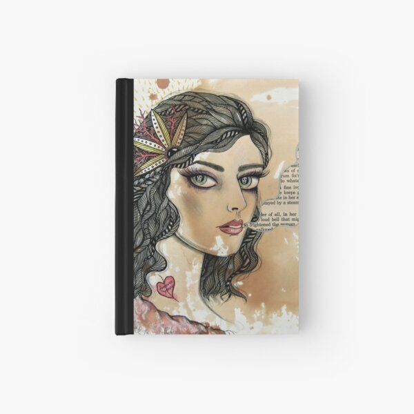 she only exists in ghost stories Hardcover Journal