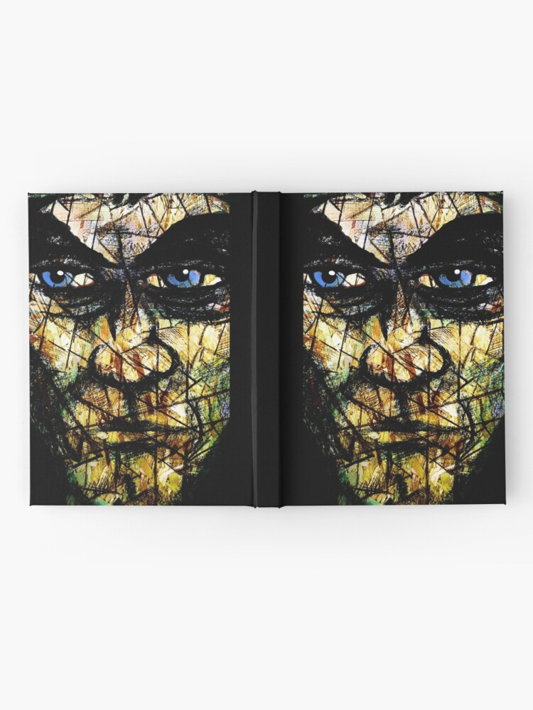 Alternate view of Long Face Wide Hardcover Journal