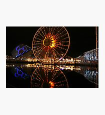 California aventure Photographic Print