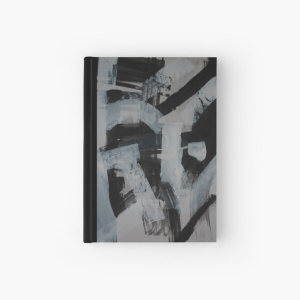 Abstract  Expressive Portrait Study 4 Hardcover Journal