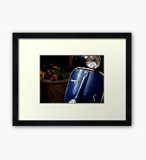 Vespa Dreams Framed Print