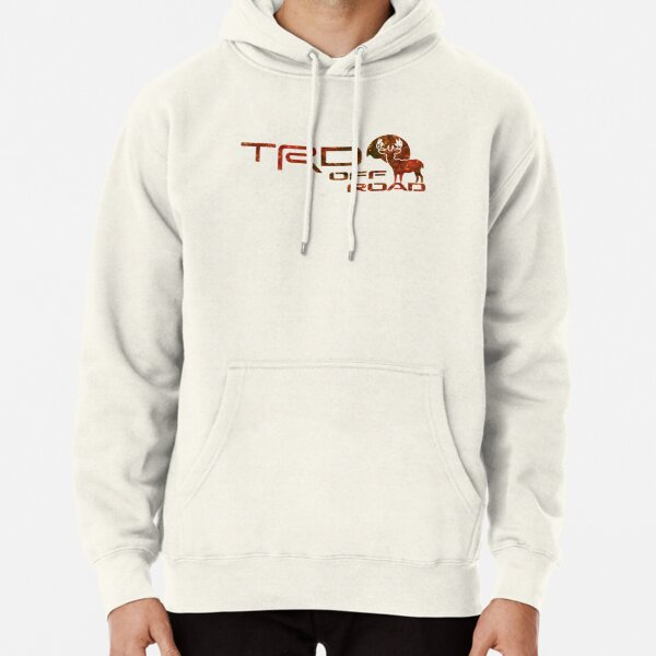 Distressed No Problem Rolled Off Road Lifted Hoodies for Men
