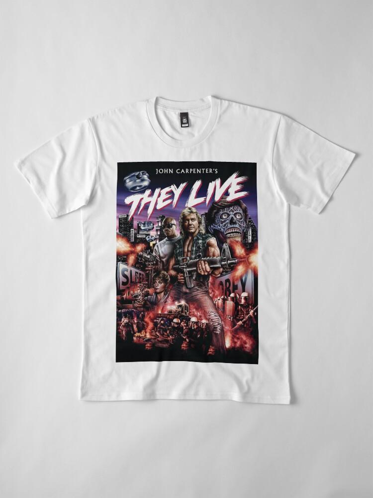 Alternative Ansicht von Sie leben Premium T-Shirt