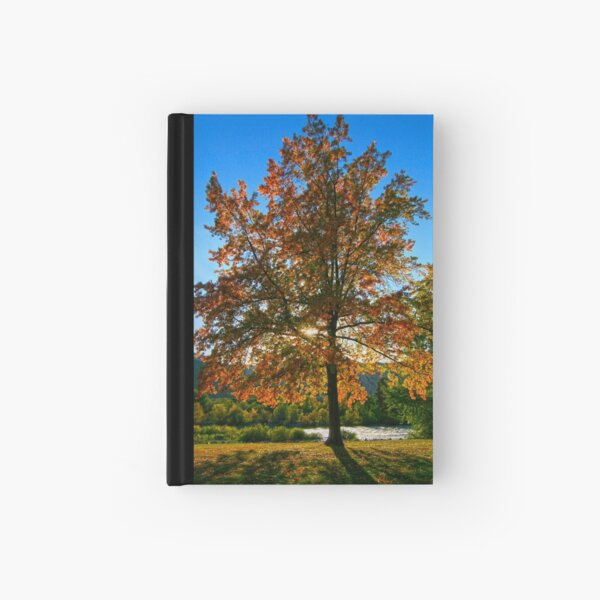 October's Glow Hardcover Journal