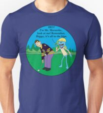 Mr. Meeseeks Happy Gilmore Parody T-Shirt