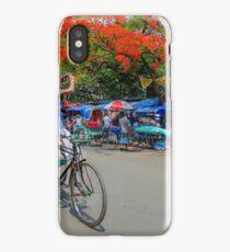 A rickshaw puller became photographers iPhone Case/Skin