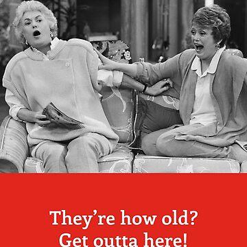 Golden Girls Card - Birthday by gregs-celeb-art