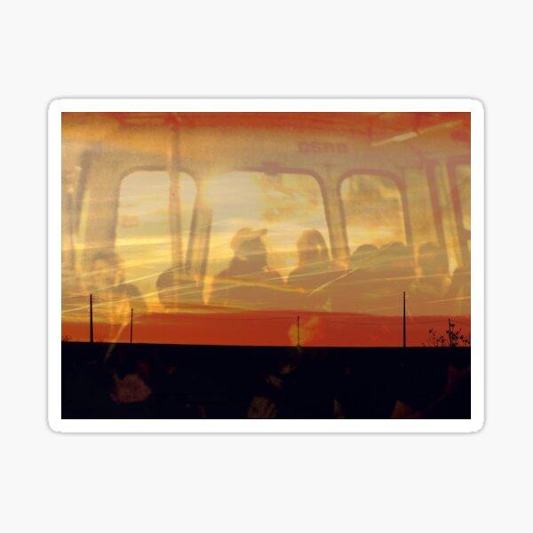Bus en chaleur Sticker