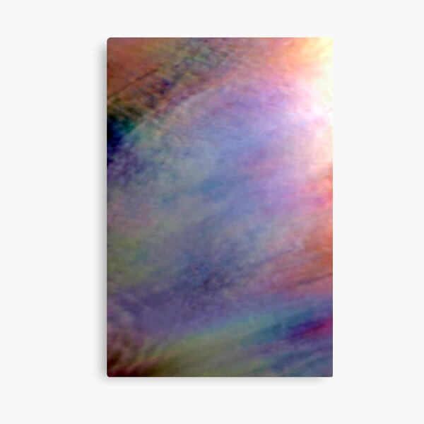 Irridescent Abstract Canvas Print